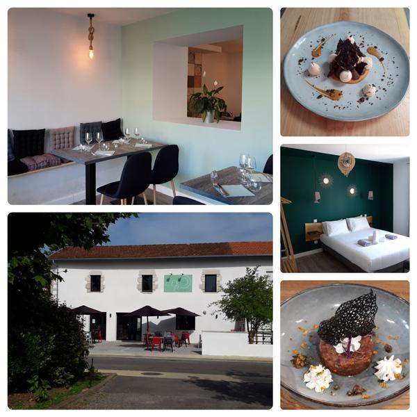 pêle-mêle L'Expression-restaurant et chambres
