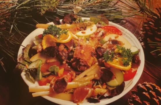 cuisine landaise-salade landaise
