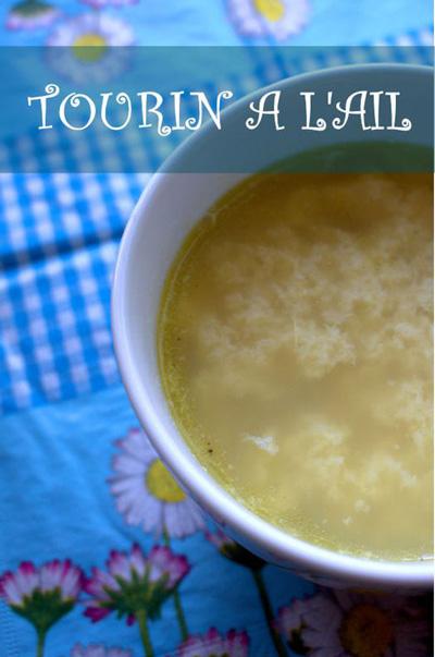 Tourin landais-recette soupe Landes