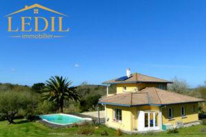 Maison avec piscine vendue par Ledil Immobilier