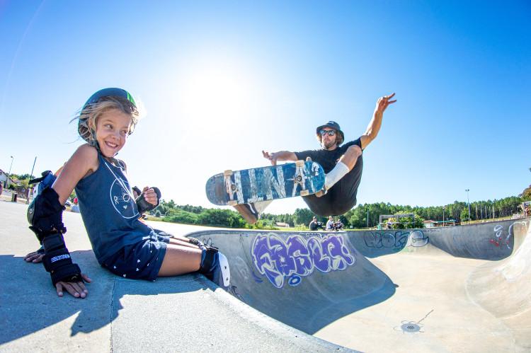 cours de skate avec l'école Soonline