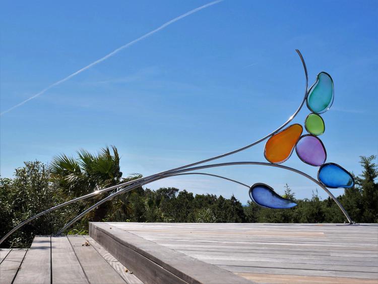 Sculpture rampe