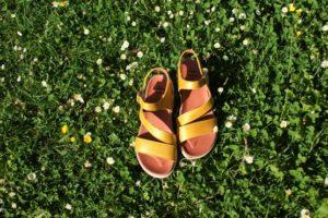 Hirica sandales jaunes