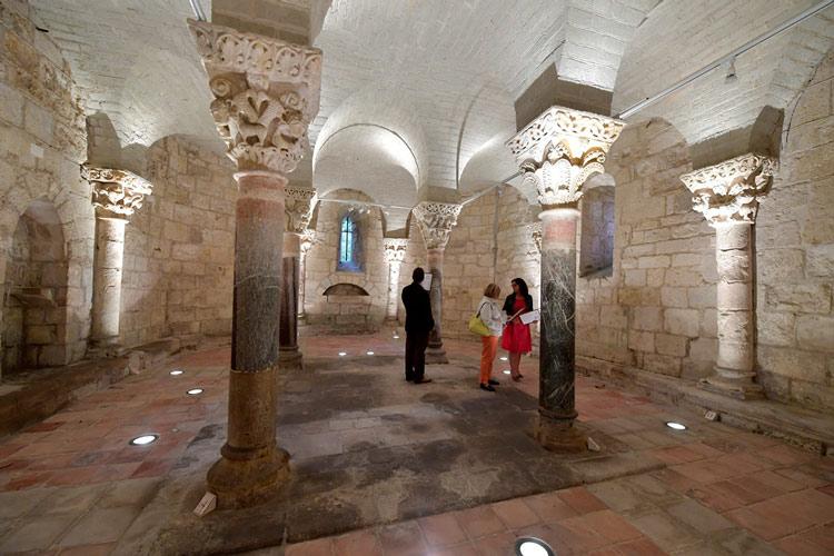 Crypte de Saint Girons Hagetmau landes